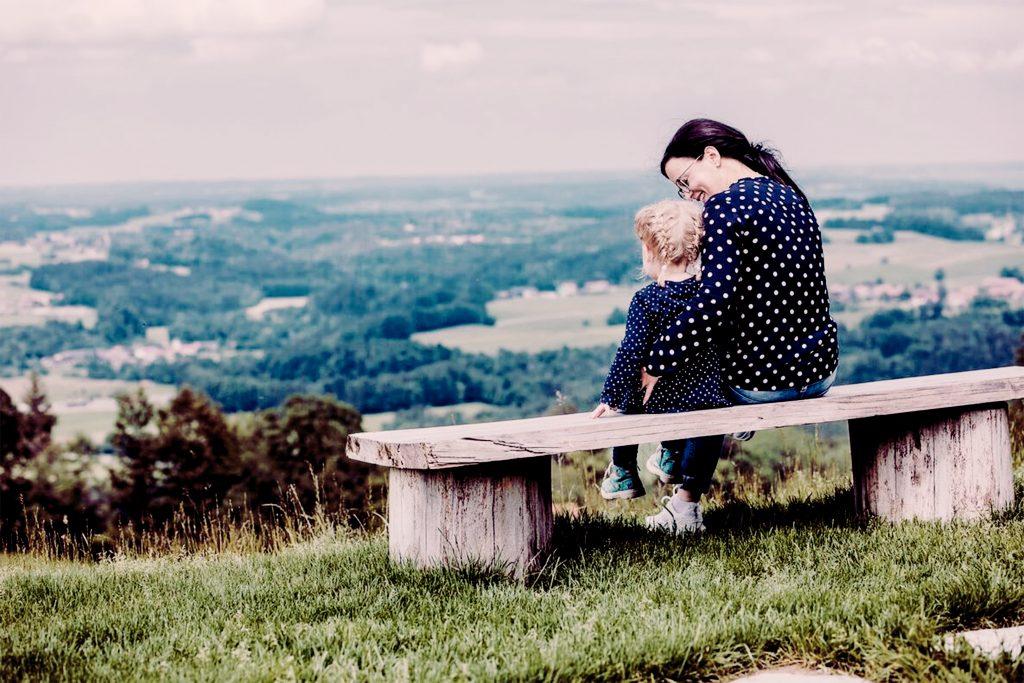 Cornelia Schanda mit Tochter