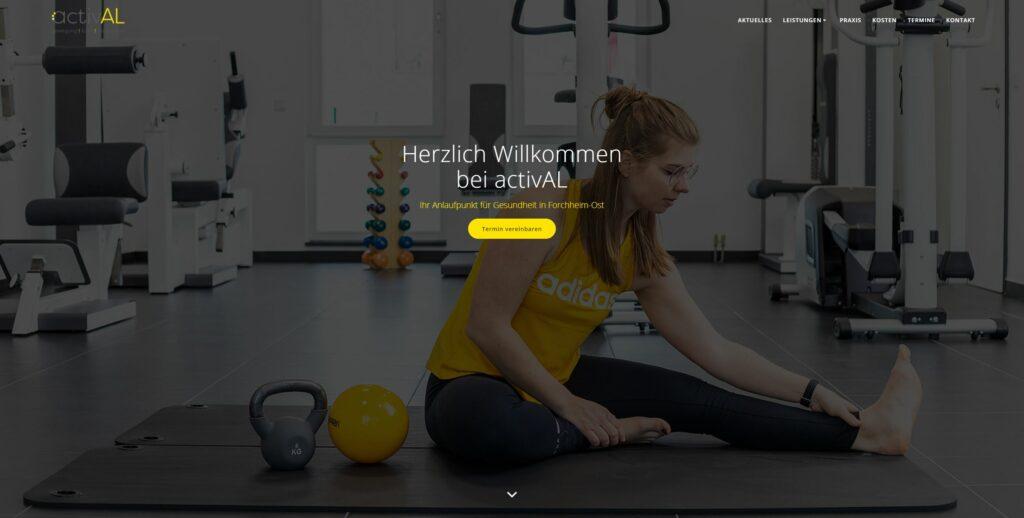 activAL Homepage Startseite
