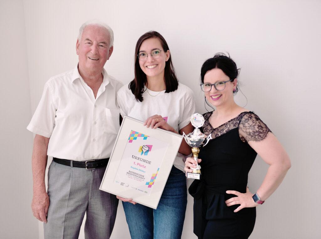 Bayerische Meisterschaft Urkunde