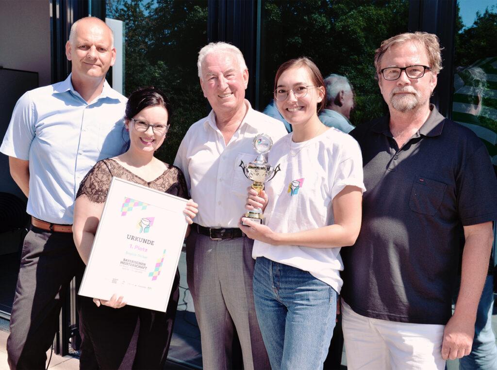 Bayerische Meisterschaft Siegerehrung